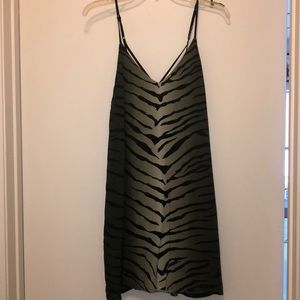 Brand new Ecote animal print slip dress. Size S